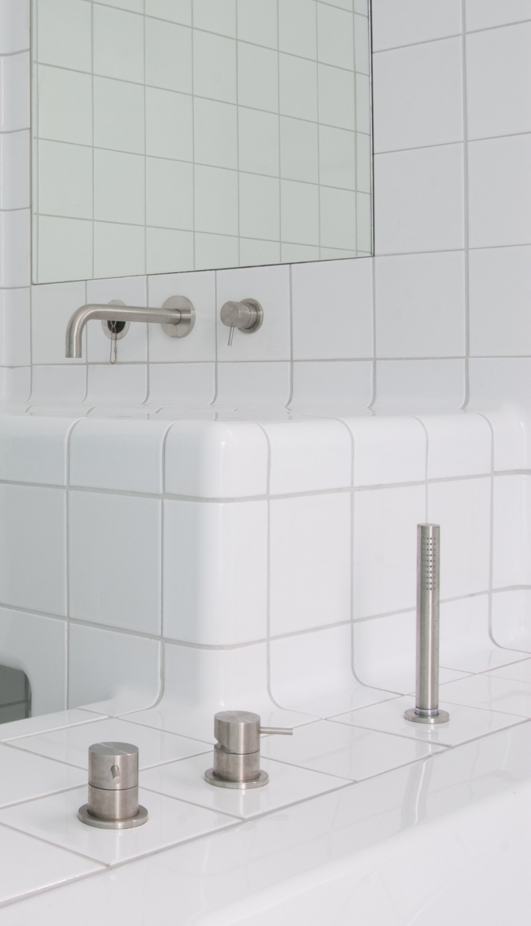 3d tiles with taps, functional and construction modern rounded tiles available in multiple colors