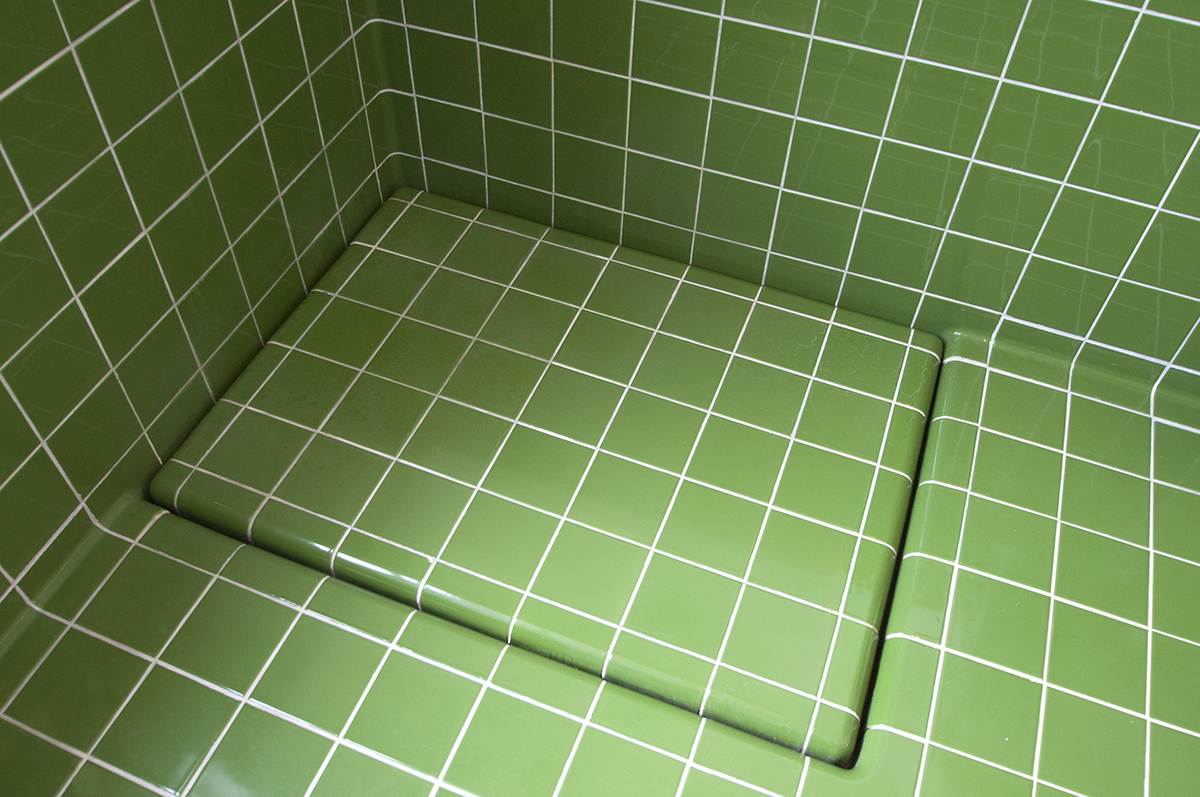 colored 3d tiles drain, functional and construction modern rounded tiles available in multiple colors